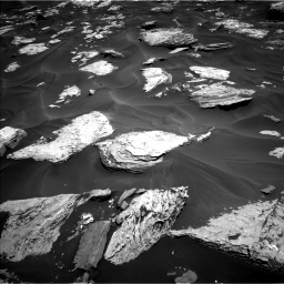 Nasa's Mars rover Curiosity acquired this image using its Left Navigation Camera on Sol 1737, at drive 1008, site number 64