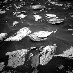 Nasa's Mars rover Curiosity acquired this image using its Left Navigation Camera on Sol 1737, at drive 1032, site number 64