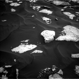 Nasa's Mars rover Curiosity acquired this image using its Left Navigation Camera on Sol 1737, at drive 1050, site number 64