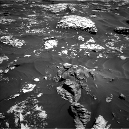 Nasa's Mars rover Curiosity acquired this image using its Left Navigation Camera on Sol 1737, at drive 1128, site number 64