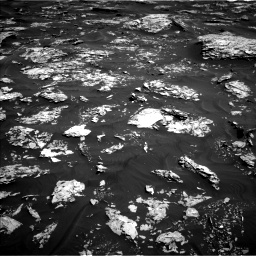 Nasa's Mars rover Curiosity acquired this image using its Left Navigation Camera on Sol 1737, at drive 1158, site number 64