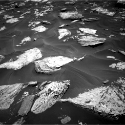 Nasa's Mars rover Curiosity acquired this image using its Right Navigation Camera on Sol 1737, at drive 1014, site number 64