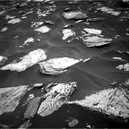 Nasa's Mars rover Curiosity acquired this image using its Right Navigation Camera on Sol 1737, at drive 1020, site number 64