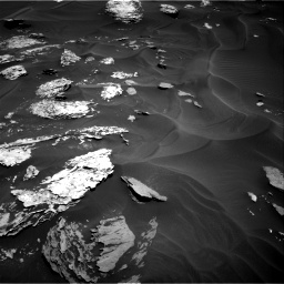 Nasa's Mars rover Curiosity acquired this image using its Right Navigation Camera on Sol 1737, at drive 1086, site number 64