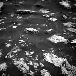 Nasa's Mars rover Curiosity acquired this image using its Right Navigation Camera on Sol 1737, at drive 1104, site number 64