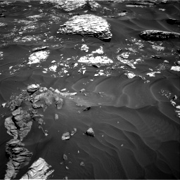 Nasa's Mars rover Curiosity acquired this image using its Right Navigation Camera on Sol 1737, at drive 1122, site number 64