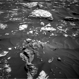 Nasa's Mars rover Curiosity acquired this image using its Right Navigation Camera on Sol 1737, at drive 1128, site number 64