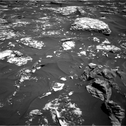 Nasa's Mars rover Curiosity acquired this image using its Right Navigation Camera on Sol 1737, at drive 1134, site number 64