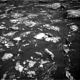 Nasa's Mars rover Curiosity acquired this image using its Right Navigation Camera on Sol 1737, at drive 1146, site number 64