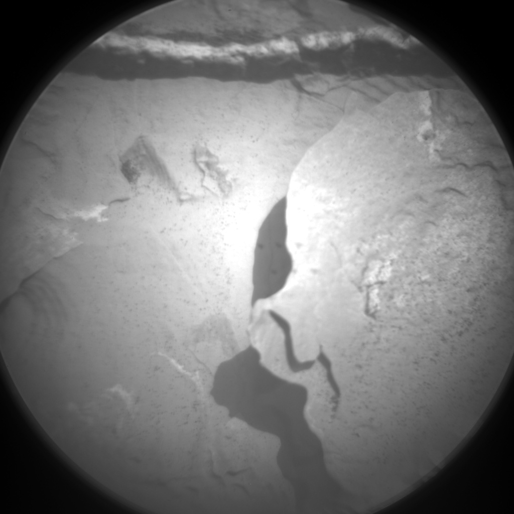 Nasa's Mars rover Curiosity acquired this image using its Chemistry & Camera (ChemCam) on Sol 1738, at drive 1194, site number 64