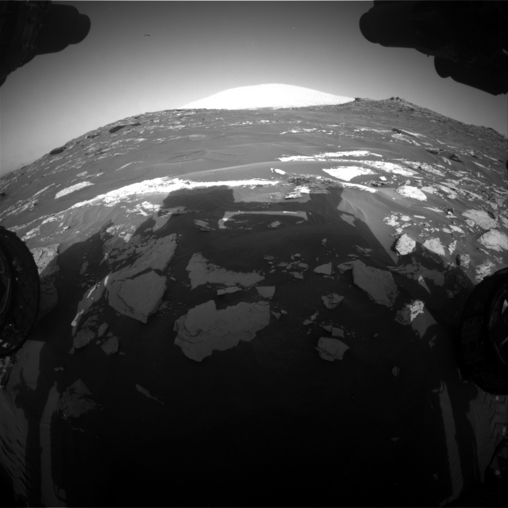 Nasa's Mars rover Curiosity acquired this image using its Front Hazard Avoidance Camera (Front Hazcam) on Sol 1739, at drive 1470, site number 64