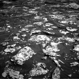 Nasa's Mars rover Curiosity acquired this image using its Left Navigation Camera on Sol 1739, at drive 1194, site number 64