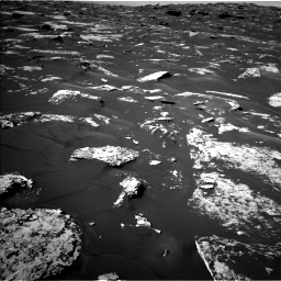 Nasa's Mars rover Curiosity acquired this image using its Left Navigation Camera on Sol 1739, at drive 1290, site number 64