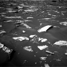 Nasa's Mars rover Curiosity acquired this image using its Left Navigation Camera on Sol 1739, at drive 1320, site number 64