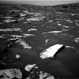 Nasa's Mars rover Curiosity acquired this image using its Left Navigation Camera on Sol 1739, at drive 1332, site number 64