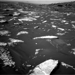 Nasa's Mars rover Curiosity acquired this image using its Left Navigation Camera on Sol 1739, at drive 1344, site number 64