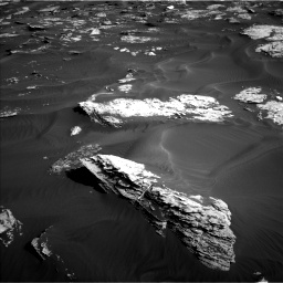 Nasa's Mars rover Curiosity acquired this image using its Left Navigation Camera on Sol 1739, at drive 1374, site number 64