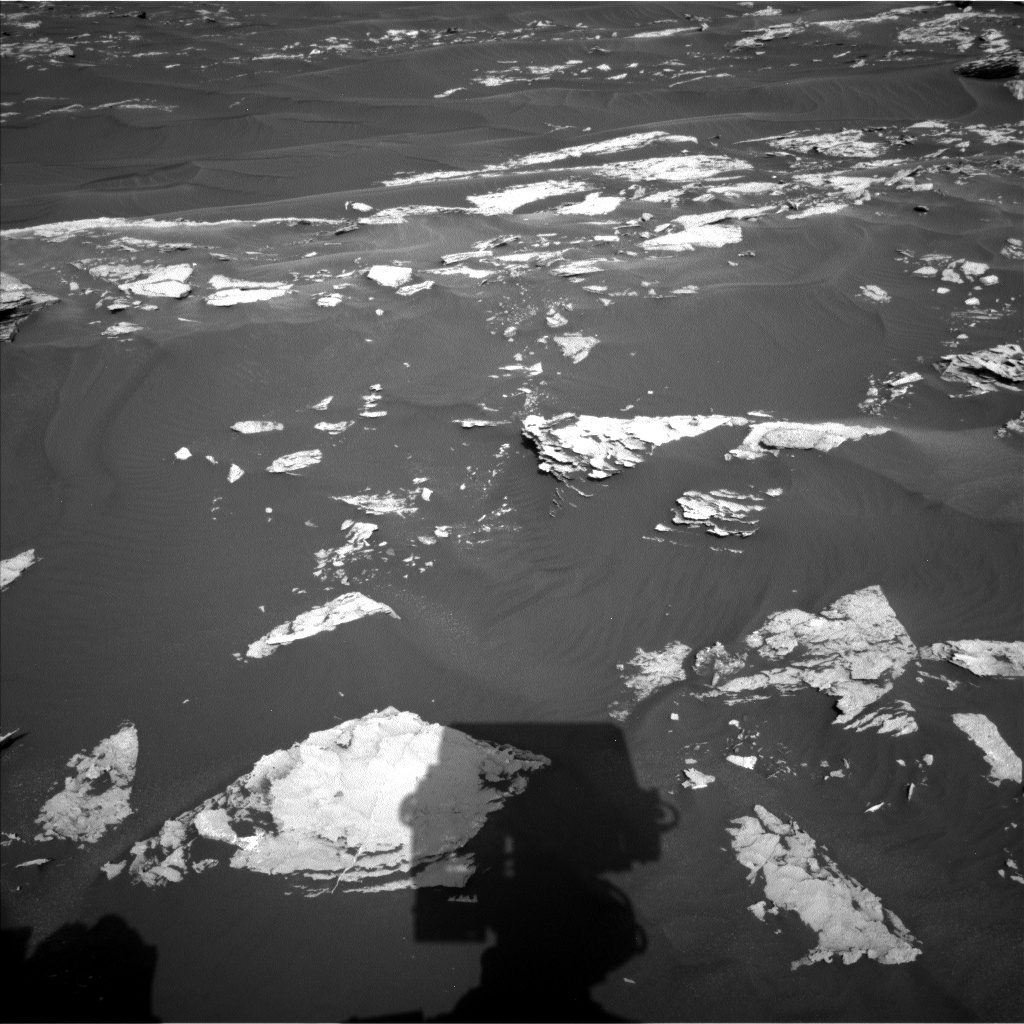 Nasa's Mars rover Curiosity acquired this image using its Left Navigation Camera on Sol 1739, at drive 1428, site number 64