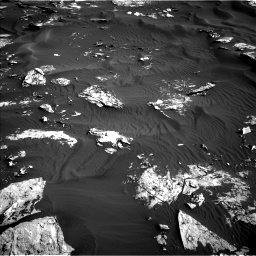 Nasa's Mars rover Curiosity acquired this image using its Left Navigation Camera on Sol 1739, at drive 1434, site number 64