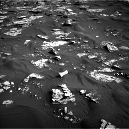 Nasa's Mars rover Curiosity acquired this image using its Left Navigation Camera on Sol 1739, at drive 1458, site number 64