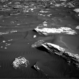 Nasa's Mars rover Curiosity acquired this image using its Right Navigation Camera on Sol 1739, at drive 1380, site number 64