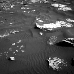 Nasa's Mars rover Curiosity acquired this image using its Right Navigation Camera on Sol 1739, at drive 1410, site number 64