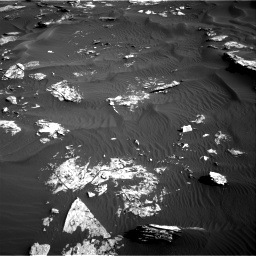 Nasa's Mars rover Curiosity acquired this image using its Right Navigation Camera on Sol 1739, at drive 1422, site number 64