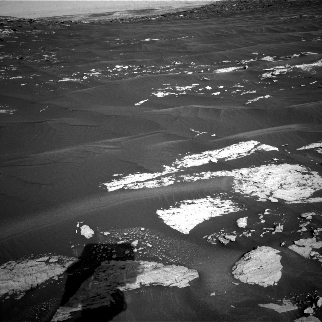NASA's Mars rover Curiosity acquired this image using its Right Navigation Cameras (Navcams) on Sol 1739