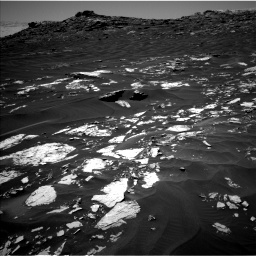 Nasa's Mars rover Curiosity acquired this image using its Left Navigation Camera on Sol 1741, at drive 1476, site number 64