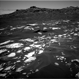 Nasa's Mars rover Curiosity acquired this image using its Left Navigation Camera on Sol 1741, at drive 1482, site number 64