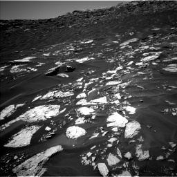 Nasa's Mars rover Curiosity acquired this image using its Left Navigation Camera on Sol 1741, at drive 1512, site number 64