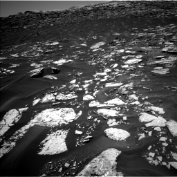 Nasa's Mars rover Curiosity acquired this image using its Left Navigation Camera on Sol 1741, at drive 1524, site number 64