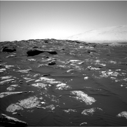 Nasa's Mars rover Curiosity acquired this image using its Left Navigation Camera on Sol 1741, at drive 1566, site number 64