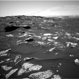 Nasa's Mars rover Curiosity acquired this image using its Left Navigation Camera on Sol 1741, at drive 1602, site number 64