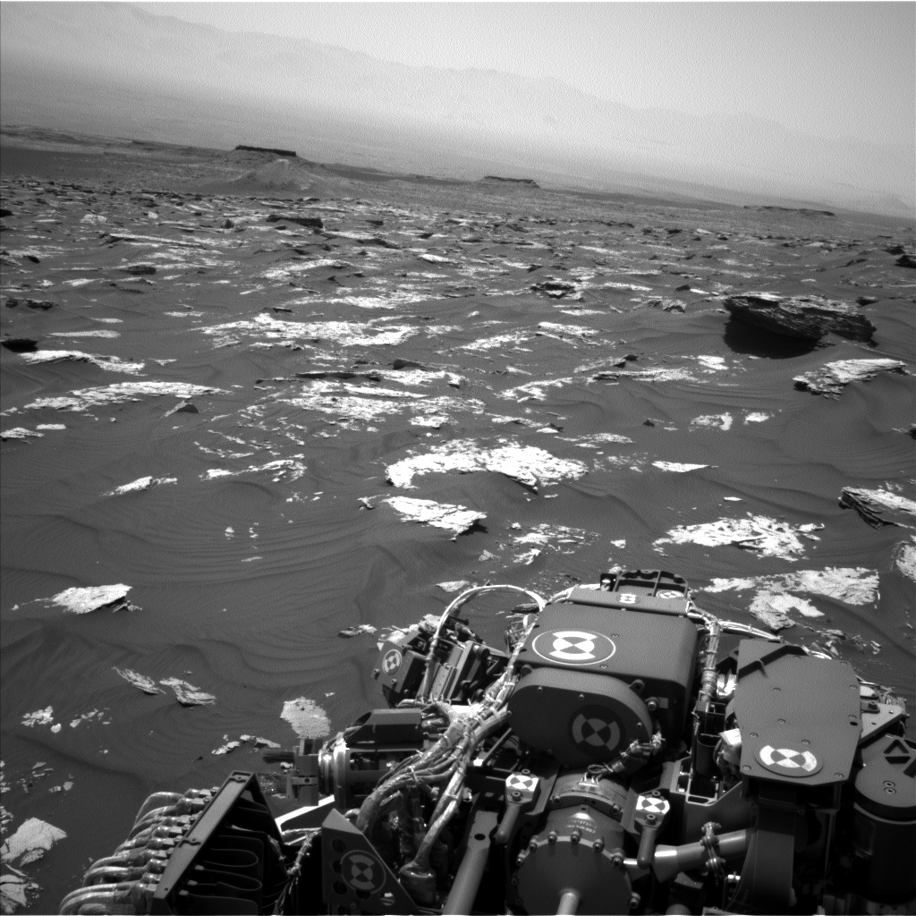 Nasa's Mars rover Curiosity acquired this image using its Left Navigation Camera on Sol 1741, at drive 1626, site number 64