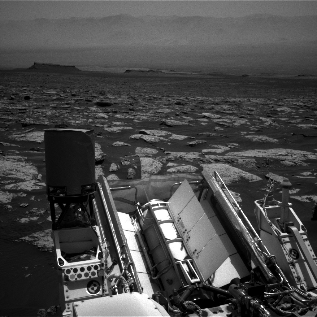 NASA's Mars rover Curiosity acquired this image using its Left Navigation Camera (Navcams) on Sol 1741