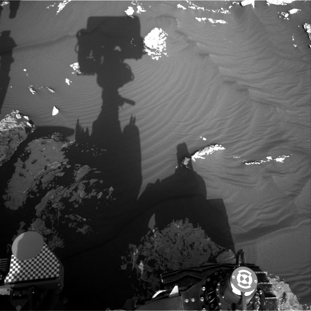 Nasa's Mars rover Curiosity acquired this image using its Right Navigation Camera on Sol 1741, at drive 1626, site number 64