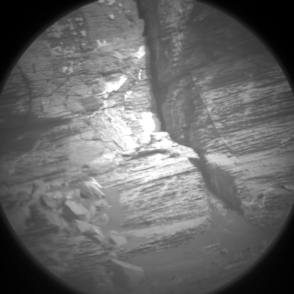 Nasa's Mars rover Curiosity acquired this image using its Chemistry & Camera (ChemCam) on Sol 1745, at drive 1626, site number 64