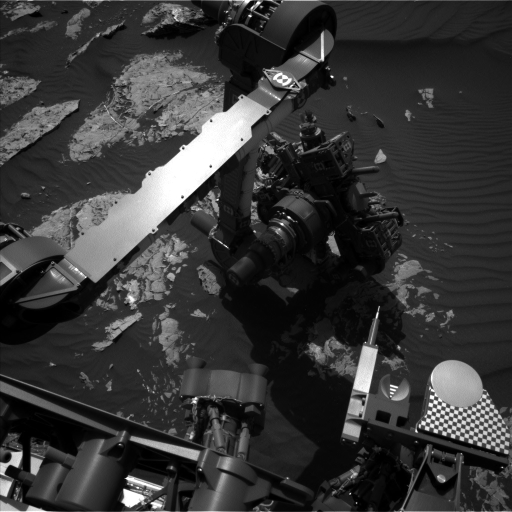 Nasa's Mars rover Curiosity acquired this image using its Left Navigation Camera on Sol 1745, at drive 1626, site number 64