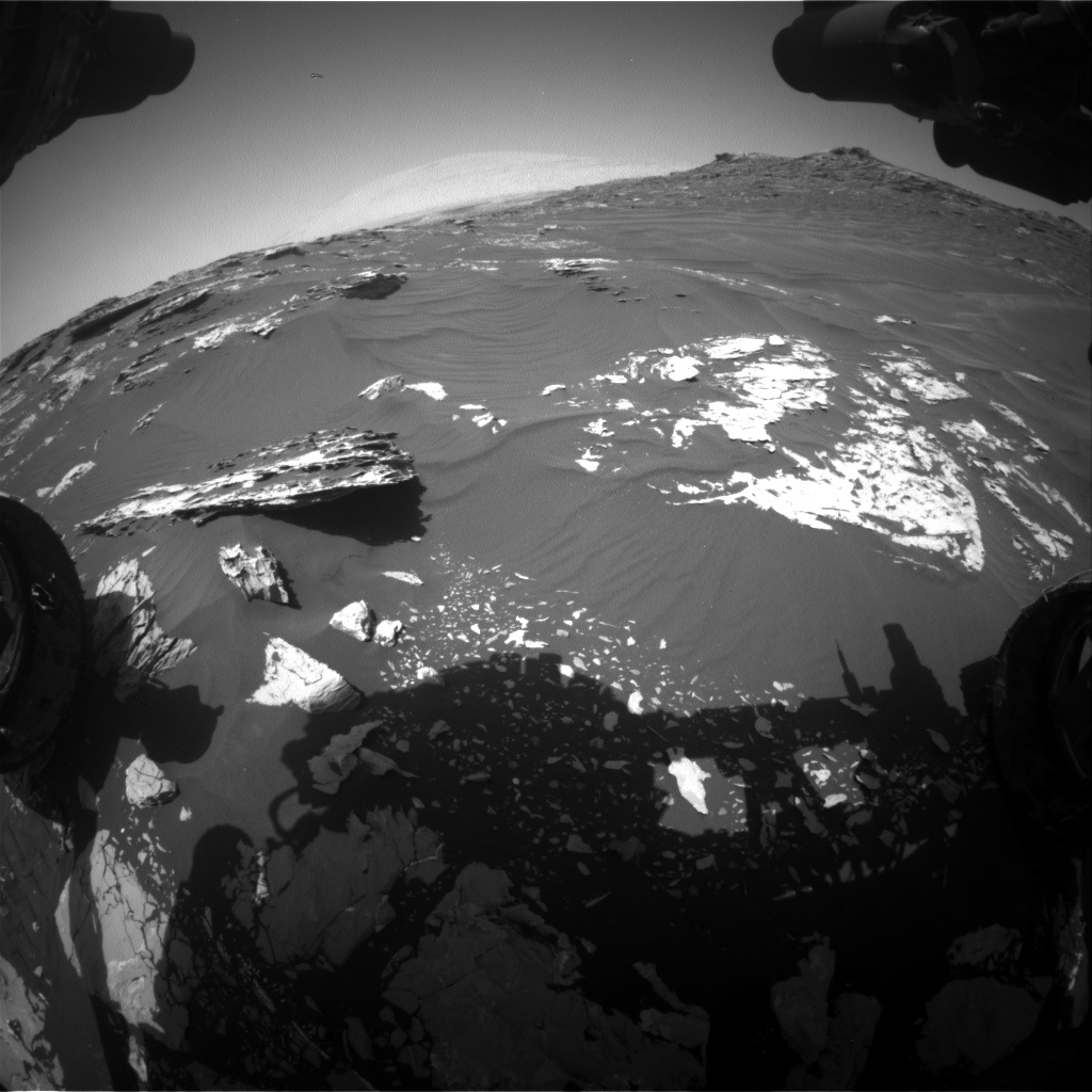 Nasa's Mars rover Curiosity acquired this image using its Front Hazard Avoidance Camera (Front Hazcam) on Sol 1746, at drive 1890, site number 64