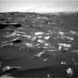 Nasa's Mars rover Curiosity acquired this image using its Left Navigation Camera on Sol 1746, at drive 1626, site number 64