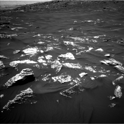 Nasa's Mars rover Curiosity acquired this image using its Left Navigation Camera on Sol 1746, at drive 1680, site number 64