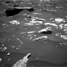 Nasa's Mars rover Curiosity acquired this image using its Left Navigation Camera on Sol 1746, at drive 1686, site number 64