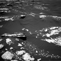 Nasa's Mars rover Curiosity acquired this image using its Left Navigation Camera on Sol 1746, at drive 1872, site number 64