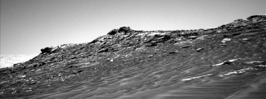 Nasa's Mars rover Curiosity acquired this image using its Left Navigation Camera on Sol 1746, at drive 1890, site number 64