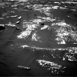Nasa's Mars rover Curiosity acquired this image using its Right Navigation Camera on Sol 1746, at drive 1770, site number 64