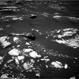 Nasa's Mars rover Curiosity acquired this image using its Right Navigation Camera on Sol 1746, at drive 1866, site number 64