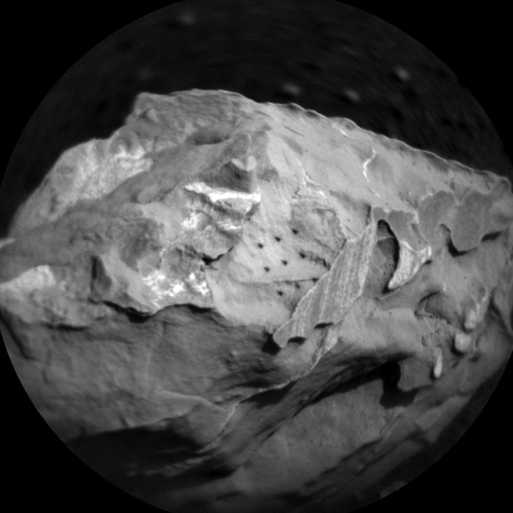 Nasa's Mars rover Curiosity acquired this image using its Chemistry & Camera (ChemCam) on Sol 1746, at drive 1890, site number 64