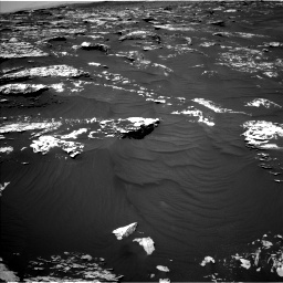 Nasa's Mars rover Curiosity acquired this image using its Left Navigation Camera on Sol 1747, at drive 1896, site number 64