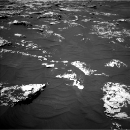 Nasa's Mars rover Curiosity acquired this image using its Left Navigation Camera on Sol 1747, at drive 1908, site number 64